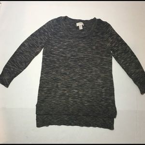 Loft by Ann Taylor multi-brown sweater | sz S